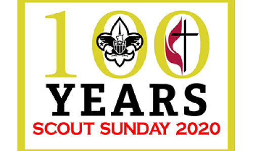 Boy Scout Sunday Patch - 100th Year Commemorative