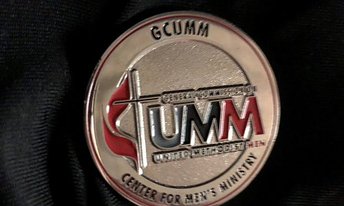 Men's Ministry Challenge Coin--Silver