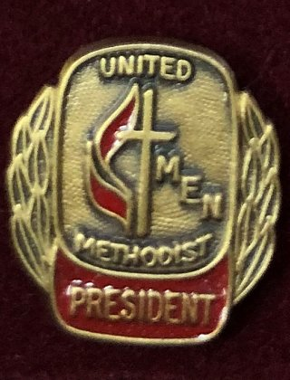pres pin old logo