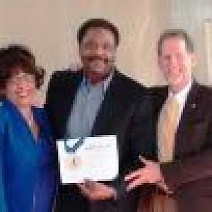 Church honors business leader and chair of BSA Council