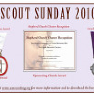 Honor Youth and Leaders on Scout Sunday