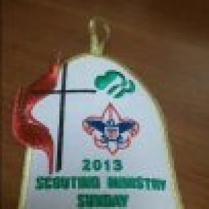Scouting Ministry Sunday patches are available