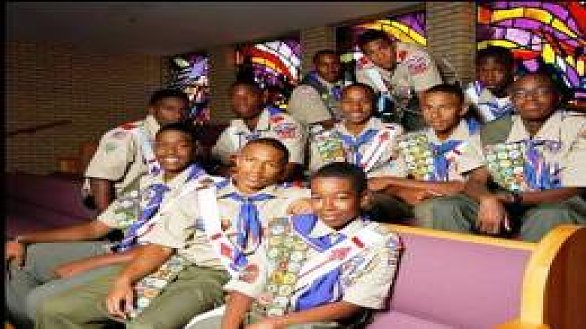 news twelve african american boy scouts earn eagle scout rank 0
