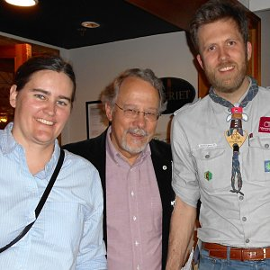 Hanke meets Norwegian Scout leaders