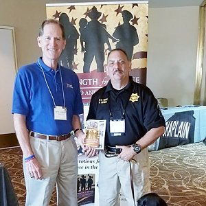 Lutheran police chaplain encourages colleagues to use devotional books