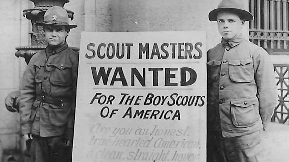 scoutmaster wanted