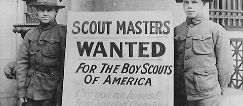 Happy 100th birthday to Methodist Scouting